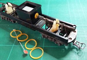 Motorisation GEGE HO - Kit moteur pour locomotives BB 9240, BB 63001.