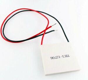 TEC1-12706 Heatsink Thermoelectric Cooler Cooling Peltier Plate Module DC 12V
