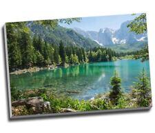FROZEN MOUNTAIN LANDSCAPE CANVAS PICTURE POSTER PRINT WALL ART UNFRAMED #1189