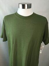 driFire Flame Resistant OD Green Large Short Sleeve Silkweight Shirt USA New D6