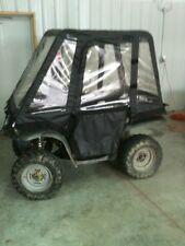 """ATV Full Cab Cover Enclosure Black 80"""" by HallcraftUTV"""