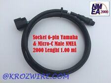 Lowrance Yamaha Engine Interface Cable Socket 6-pin NMEA 2000