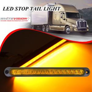 WHITEVISION RL360DLEDB - 10-30V LED Slimline Indicator Lamp - AMBER on Black