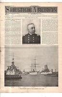 1898 Scientific American May 14 - Dewey's Great Manila Bay Victory; Winton Auto