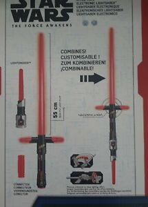 Hasbro B2948 Star Wars Lichtschwert Kylo Ren 55cm