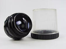 Portrait Black 85mm f/2 lens JUPITER-9 Zenit M42  s/n 7105551. Glossy paint rare