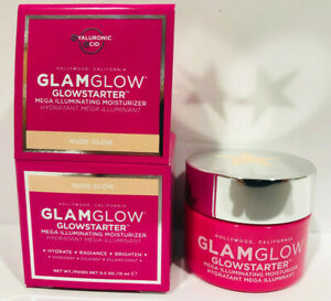 GLAMGLOW Glowstarter Mega Illuminating Moisturizer - NUDE GLOW - 0.5oz./15mL