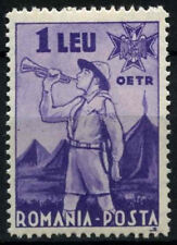 Romania 1935 sg#1306, 1l BUGLER Gomma integra, non linguellato #d34935