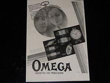 PUBLICITE - MONTRES OMEGA  - 1930 - PRESSE - ADVERTISING