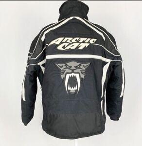 Arcticwear Men's Arctic Cat Black/Grey Snowmobile Jacket