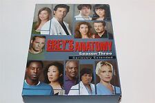 Grey's Anatomy Season Three Seriously Extended dvd Series