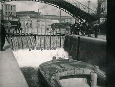 PARIS 1900 - Ecluse sur le Canal St Martin - DIV1645