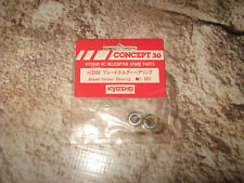 VINTAGE KYOSHO CONCEPT 30 HELICOPTER RC BLADE HOLDER BEARINGS H3006