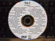 RAP HIP HOP R&B VOL 6 MUSIC VIDEO DVD BONE CRUSHER TI LIL JON I 20 YUNG LA