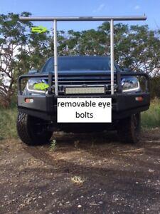 Ladder Rack - universal fit, stowable, portable, DIY install rhino Nice Rack