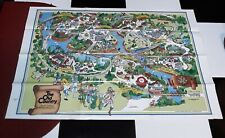 BUSCH GARDENS THE OLD COUNTRY AMUSEMENT PARK MAP 1980