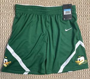 NWT 2020 Nike Dri-FIT Women's Medium Oregon Ducks Basketball Shorts
