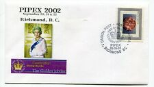 Canada BC British Columbia - Richmond 2002 Personal Postage - Stamp Show Cover