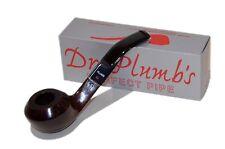 Dr Plumb Giant Rhodesian Semi-Bent Saddle Brown Briar Pipe - 4513-560XL