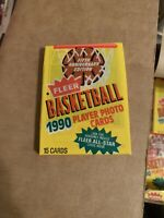 1990 Fleer Basketball Unopened Pack 1990 fleer basketball Pack 1990 Jordan ?