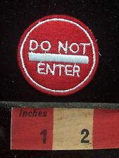 Traffic Sign Patch Do Not Enter - Road Sign Patch 74J2