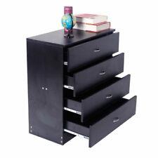 4-Drawer Dresser Chest Organizer Clothes Storage Bedroom Cabinet Home Furniture