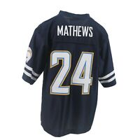 San Diego Chargers Official NFL Kids Youth Size Ryan Mathews Jersey New Tags