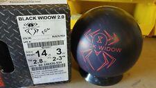 NEW 14LB Hammer Black Widow 2.0 Bowling Ball 21009
