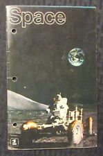 1973 SPACE Portrayed on Stamps Booklet w/ 41 Stamps N/FN+