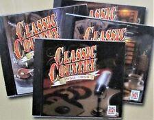 Classic Country: 1950-1964 Time/Life 4 CD Box Rare! 60 Songs Original Recordings