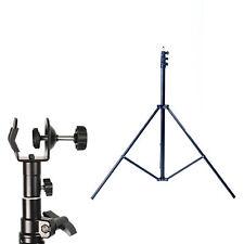 Phot-R 3m Light Stand Photo Studio C Clamp Clip 5/8 Stud Spigot for Boom Arm Pol