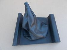 BMW E21 MANUAL SLOTTED Gearshift Lever Cover with Leather-Look Gearshift Boot B