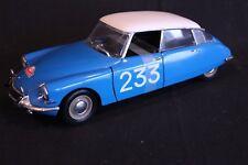 Solido Citroën DS 19 1963 1:18 #233 Toivonen / Anssi Rally Monte Carlo 1963 (AK)
