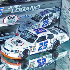JOEY LOGANO 2008 #25 RACED VERSION ROCKINGHAM 1/24 ACTION NASCAR DIECAST