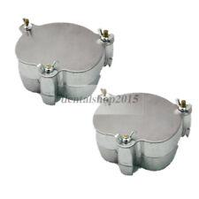 2pcs dental lab denture flask aluminium equipment compress 7#