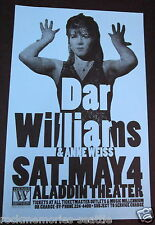 Dar Williams & Annie Weiss 1996 Aladdin Theater Concert Gig Poster