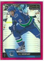 2016-17 O-Pee-Chee Platinum Red Prism #59 Bo Horvat /199
