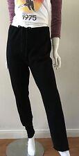 Urban Outfitters Urban Renewal Knit Pants Drawstring Waist Black Size Medium NWT