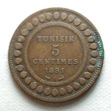 1891  Tunisie  5 centimes