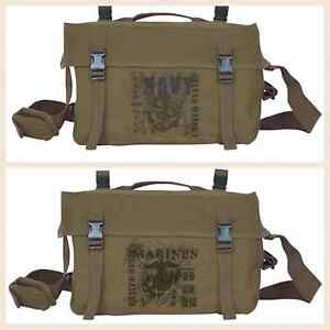 Retro GI Cargo Bag OD Green - CHOOSE FROM NAVY and MARINES - Fox Outdoor