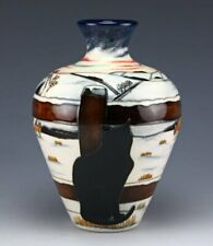 MOORCROFT WHO GOES THERE VASE, SHAPE 03/7, NUMBERED, SIGNED, 1st, RRP 595.00
