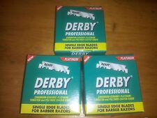 300 Derby Extra Platinum Coated Single Edge Razor Blades