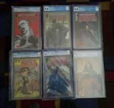 The Walking Dead #44 #92 #100 2nd Print #103 #108 & #127 CGC 9.8