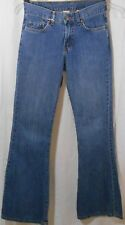 Womens' Lucky Brand Peanut Pant Dungarees, Jeans, Flair, Size 2/26, Made in USA