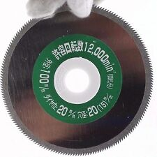 """4"""" Electroplated Diamond Coated Serrated Saw cutting wheel Cutting Disc Grit 60"""
