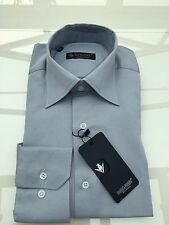 Daniel Russo Collection Milano Shirt Size M Style DB360 Grey