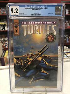 Teenage Mutant Ninja Turtles V2 #1 (Mirage Studios, 1993) CGC 9.2 ~ White Pages