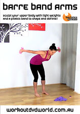 Toning EXERCISE DVD - Barlates Body Blitz - BARRE BAND ARMS!