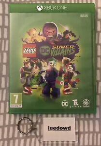 LEGO DC Super Villains Microsoft Xbox One - Mint Condition