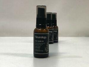 Vegan Cruelty Free Fleurology Eye Serum Aloe Vera & Coffee 3 Pack (3x30ml) Skin